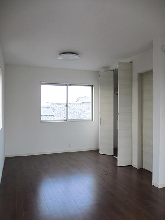 9帖の子供室は将来間仕切って2部屋に。