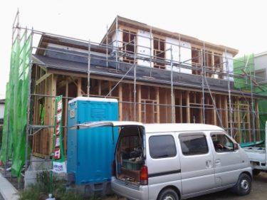 終の住処 耐震パネル施工