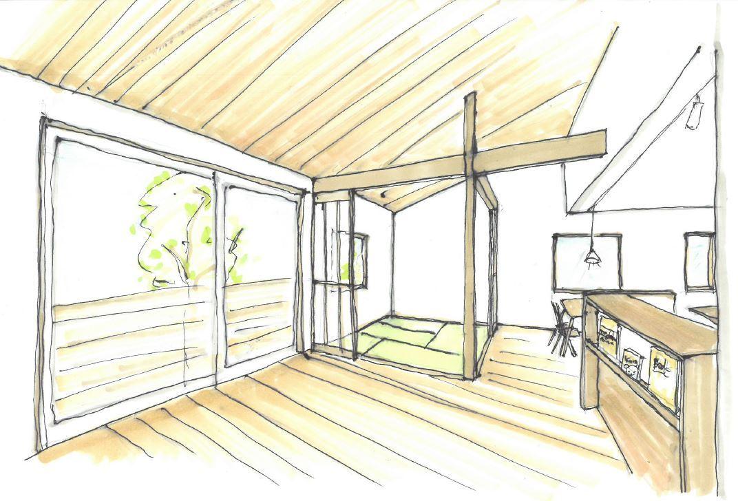 外張り断熱と全館空調の家