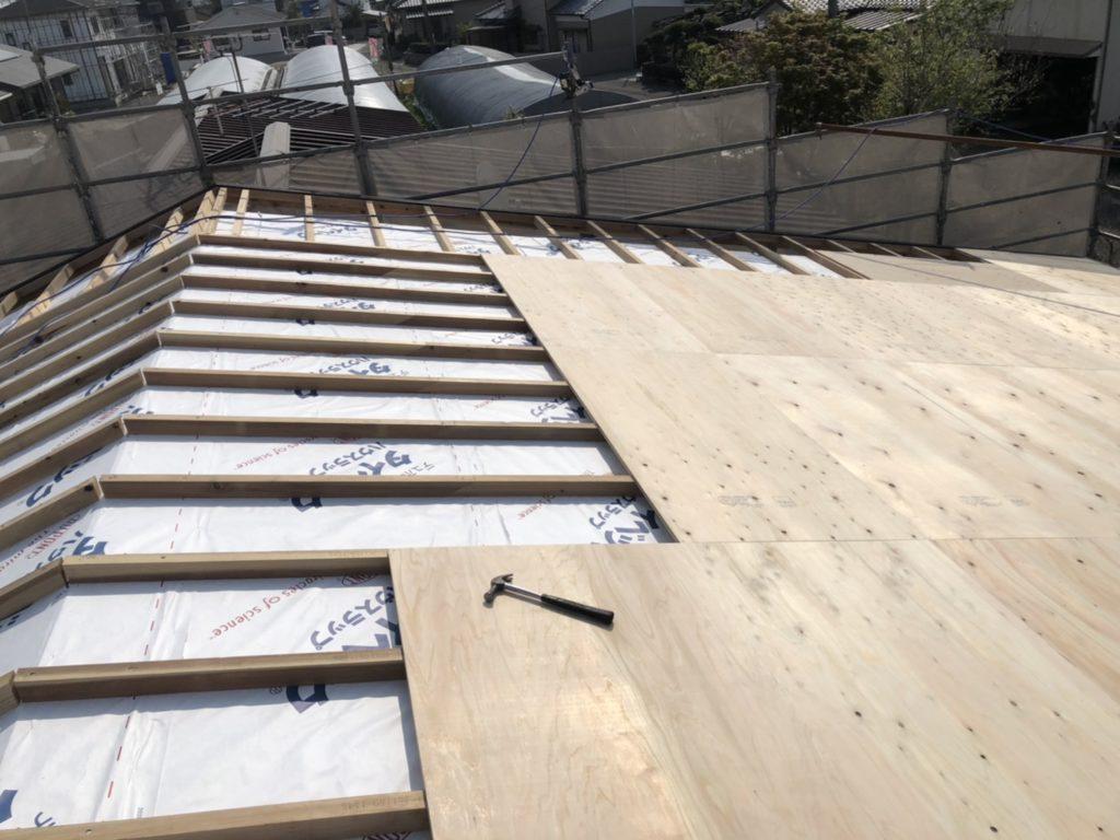 屋根の仕組み 野地板