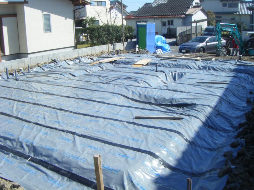 耐震等級3の基礎工事